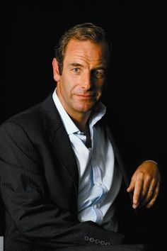 English actor, Robson Green. So handsome!