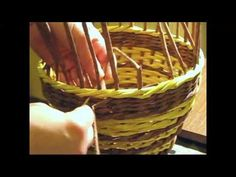 ▶ Basket. How to make the edging. Part 7. - YouTube