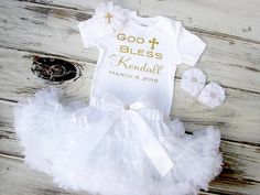 Baptism Dress Christening Dress Baby Baptism Outfit Baby