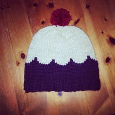 Scalloped hat by Mieke Holleman #knitting