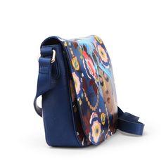 Shoulder Flap Bag in ''Sheherazade'' by Alberto Vargas Leather Handbags, Leather Bag, Icon Shoes, Illustration Girl, Girl Illustrations, Earl Moran, Girl Cartoon, Wearable Art, Shoulder
