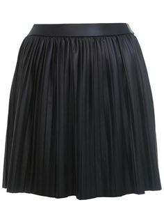 Petites Faux Leather Skirt, Miss Selfridge