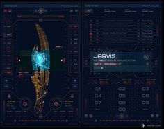 Avengers: Age of Ultron UI by Territory Studios