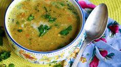 Zuppa di legumi e curcuma