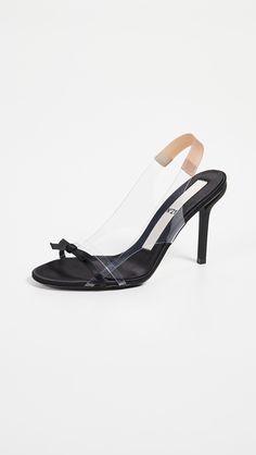 60465120c838 No. 21 Slingback Bow Sandals