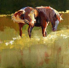 "Daily Paintworks - ""frisky"" by Carol Carmichael"