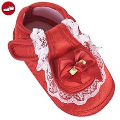 Zhhlinyuan First Walking Shoes Baby Girls Bowknot Decoration Anti-slip Sole Soft Shoes (*Partner-Link)