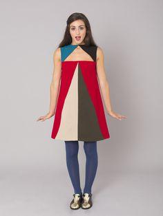 Vestido geometrico de Unauna