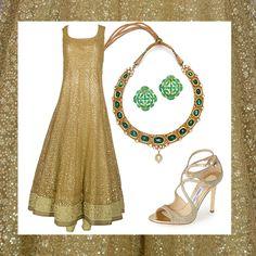 She is Mesmerizing & Glamorous. Inspiration Boards, Style Inspiration, Style Glam, Anarkali, Saree, Asian Bridal, Online Boutiques, Bridal Dresses, Wedding Events