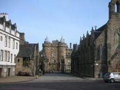 Canongate, Edinburgh, Scotland