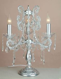 Chandelier table lamp gia rae pinterest chandelier table lamp julianne silver 3 branch chandelier table lamp aloadofball Image collections