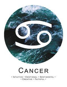 Cancer ~ intuitive, sentimental, faithful