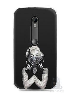 Capa Moto G3 Marilyn Monroe #5 - SmartCases - Acessórios para celulares e tablets :)
