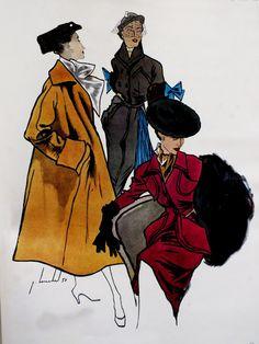 La Femme Chic - Winter 1950 LOUCHEL