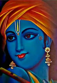 Kanha oh krishna 💖💖💖 Arte Krishna, Krishna Radha, Iskcon Krishna, Krishna Flute, Kerala Mural Painting, Indian Art Paintings, Painting Abstract, Shadow Painting, Watercolor Art