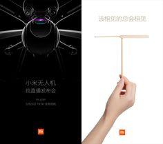 #Gadgets #drones #lanzamiento Xiaomi presentará Mi Drone el próximo día 25