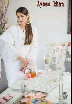 Image may contain: one or more people Ayeza Khan, Casual Suit, Pakistani Actress, Celebs, Celebrities, The Good Place, Flower Girl Dresses, Actresses, Wedding Dresses