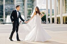 A Formal Fourth-of-July Wedding in New York City : Brides