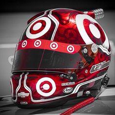 Kyle Larson Target NASCAR Sprint Cup Helmet 2014