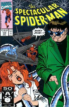 Peter Parker, The Spectacular Spider-Man # 174 by Sal Buscema
