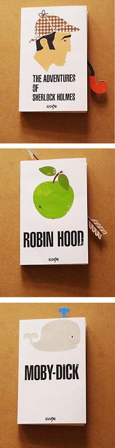 Clever bookmark design