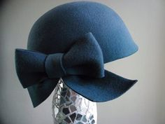 sweet looking cloche hat #millinery #judithm #hats