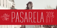 Pasarela Font: The street is the new runway. Pasarela is a display typeface inspired by the new culture of fashion in the streets. Continents, 30th, Fonts, Inspiration, Runway, Biblical Inspiration, Font Downloads, Script Fonts, Wedding Fonts