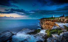 Macquarie Lighthouse in Sydney, Australia (© Igor Kasalovic/500px)