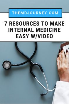 Want to get honors on your internal medicine rotation? The rotation can be tough so here are to help you crush it on your shelf and board exams! Watch this video to learn what these top study resources are! Medicine Notes, Medicine Student, Internal Medicine, Rn School, Medical School, School Tips, First Aid Steps, Family Nurse Practitioner, New Nurse