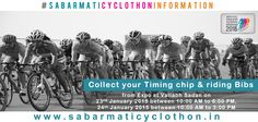 Participants, Kindly collect your Timing chip & riding Bibs from Expo at Vallabh Sadan on 23rd January 2015 between 10:00 AM to 6:00 PM 24th January 2015 between 10:00 AM to 3:00 PM