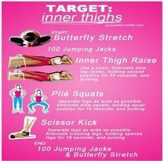 Exercises that Target Inner Thighs