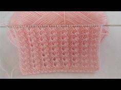 Diy Crafts Knitting, Easy Knitting Patterns, Knitting Designs, Knitting Stitches, Free Knitting, Baby Knitting, Stitch Patterns, Crafts Beautiful, Easy Diy Crafts