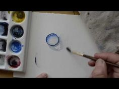 A Beginner's Guide to Painting Water Drops in Watercolor - YouTube
