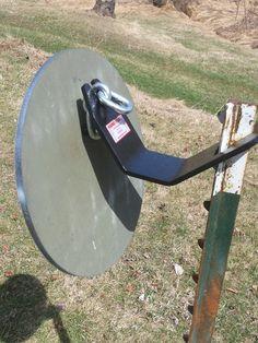12 inch round Steel Target System