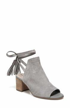 7197e3e83e0 Sam Edelman Sampson Block Heel Bootie (Women) Blue Shoes