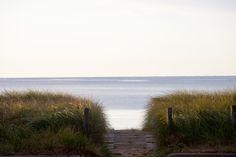Upper Michigan Path to Beach