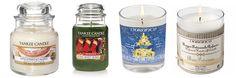 Trucs # 41 à 44 : Battle de bougies de Noël Yankee Candle et Durance - Apologie d'une Shopping-addicte