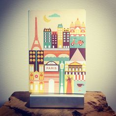 Coming soon! Paris journal by Petit Collage. http://www.chroniclebooks.com/titles/petit-collage-paris-journal.html