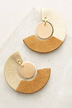 Two-Thirds Drop Earrings