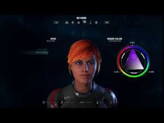 Mass Effect Andromeda -Insanity Playthrough  (character creation)
