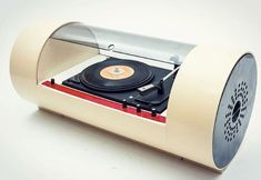 The 15 most incredible Space Age record players From stereo 'eggs' to spaceship jukeboxes, collected some of the most visually striking stereo designs from the Space Age. Vinyl Record Player, Record Players, Radios, Poste Radio, Music Machine, Vintage Vinyl Records, Atomic Age, Phonograph, Vintage Music