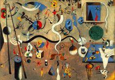 Harlequin's Carnival - Joan Miro
