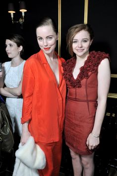 Melissa George and Chloe Moretz wearing HM. Paris Fashion Week 2013. Video coverage: http://youtu.be/AGUkPEC7noI Full story: http://ritzherald.com/lifestyle/item/140-hm-makes-a-paris-fashion-week-debut-with-its-autumn-2013-show