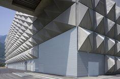 County Incinerator Central System | Giubiasco, Switzerland | Studio di Architettura Vacchini | Photos © Marco Introini