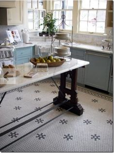 kitchen floor tile f