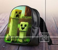 Famous Figure Game Creeper With He's Soon - Game Design For Kids School Bag Backpack