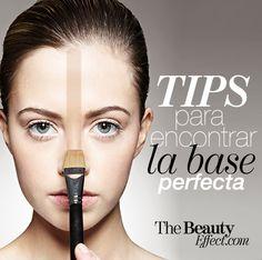 Tips para encontrar tu base de maquillaje.