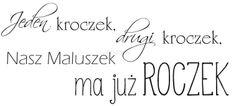 "Stempel gumowy ""Jeden kroczek drugi..."" 91 Scrapbooking sklep SZMEK.pl Stemple z NAPISAMI"