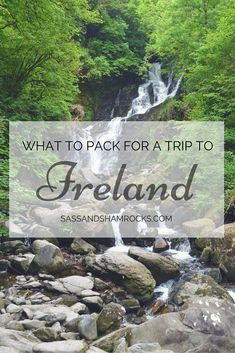 What To Pack For A Trip To Ireland #PackingTips #Travel