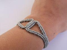 Ancient greek style bangle bracelet, silver bangle, minimalist!!